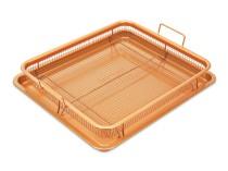 Copper Crisper sütőtálca kosárral