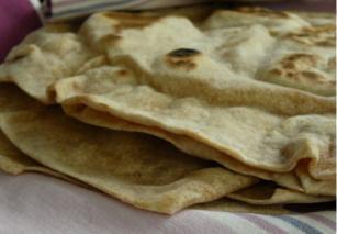 Tortilla búzalisztből