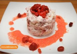 Gyümölcsös meringue pite