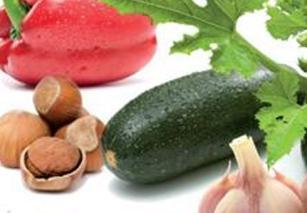 Földimogyorós sült zöldség