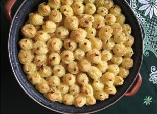 Csőben sült sajtos csirkemell