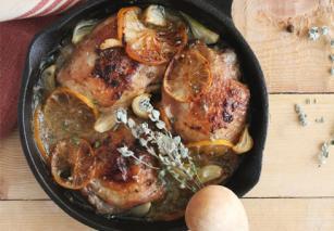 Stahl konyhája receptje: Csirkemell medvehagymás sajtkrémmel