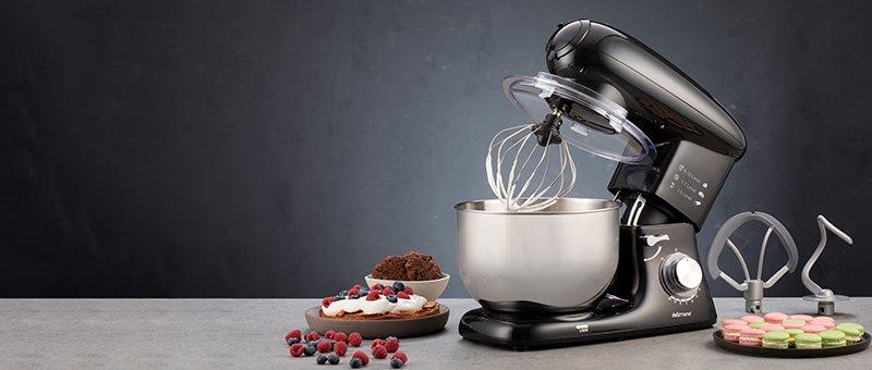Kitchen Robot Deluxe Noir robotgép