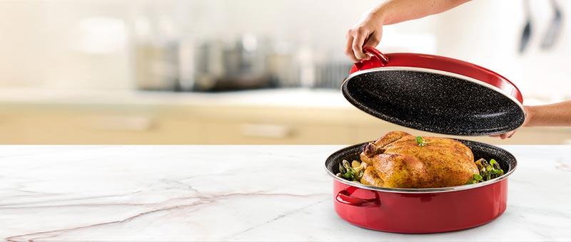 Stone Legend Oval roaster sütőszett