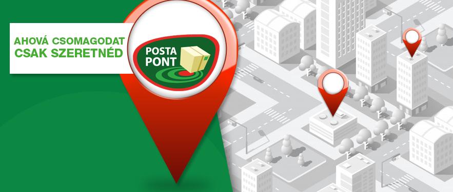 Elindult Postapont átvételi szolgáltatásunk
