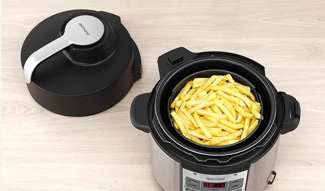 Delimano Air Fryer & Kukta Multicooker