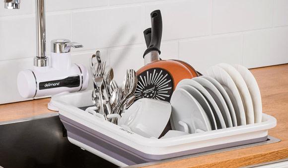Delimano Brava összecsukható edényszárító