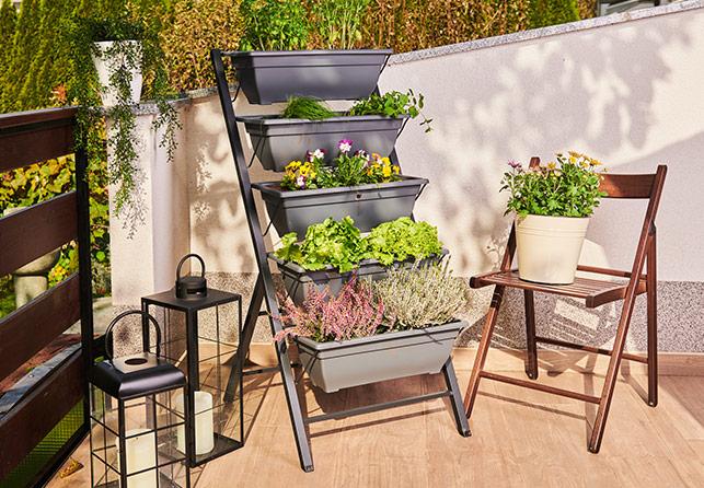 Grow Vertical Garden virágládák