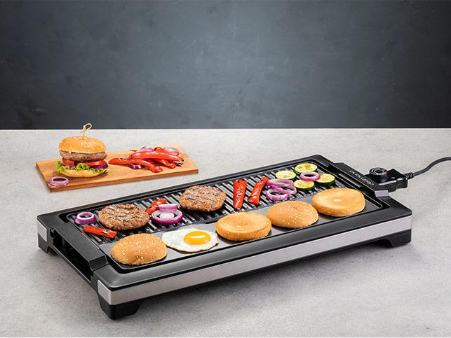 Delimano Griddle Deluxe Noir asztali grill