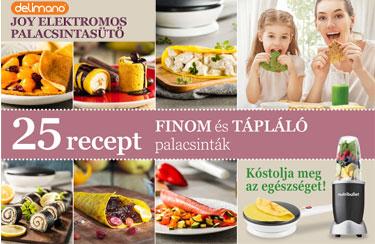 Finom és tápláló palacsinták - 25 új recept